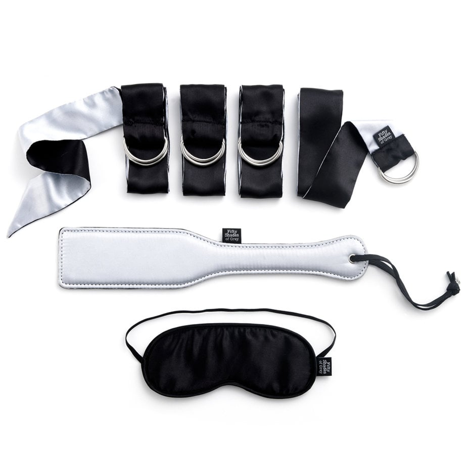 Fifty Shades of Grey Submit to Me Beginners Bondage Kit ($70)