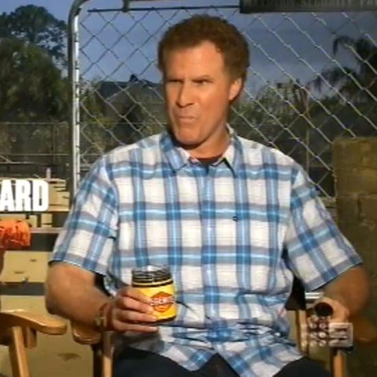 Beau Ryan Will Ferrell Kevin Hart Vegemite on The Footy Show