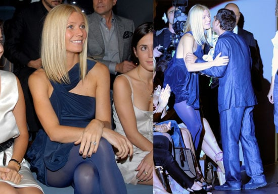 Photos of Gwyneth Paltrow at The Adolfo Dominguez Fashion Show in Madrid