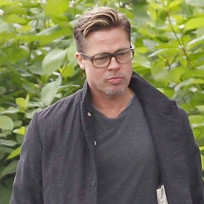 Brad Pitt With Short Hair Pictures