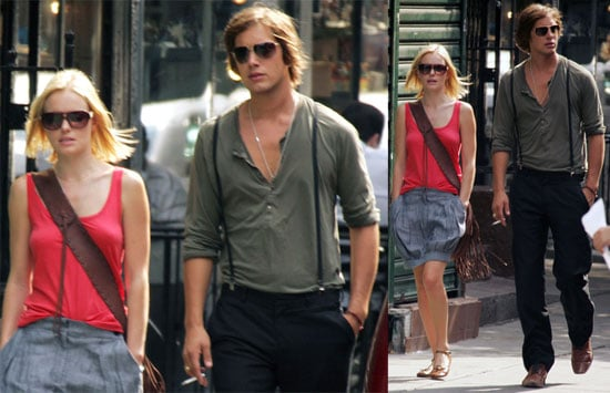 Kate & James Prepare For Fashion Week