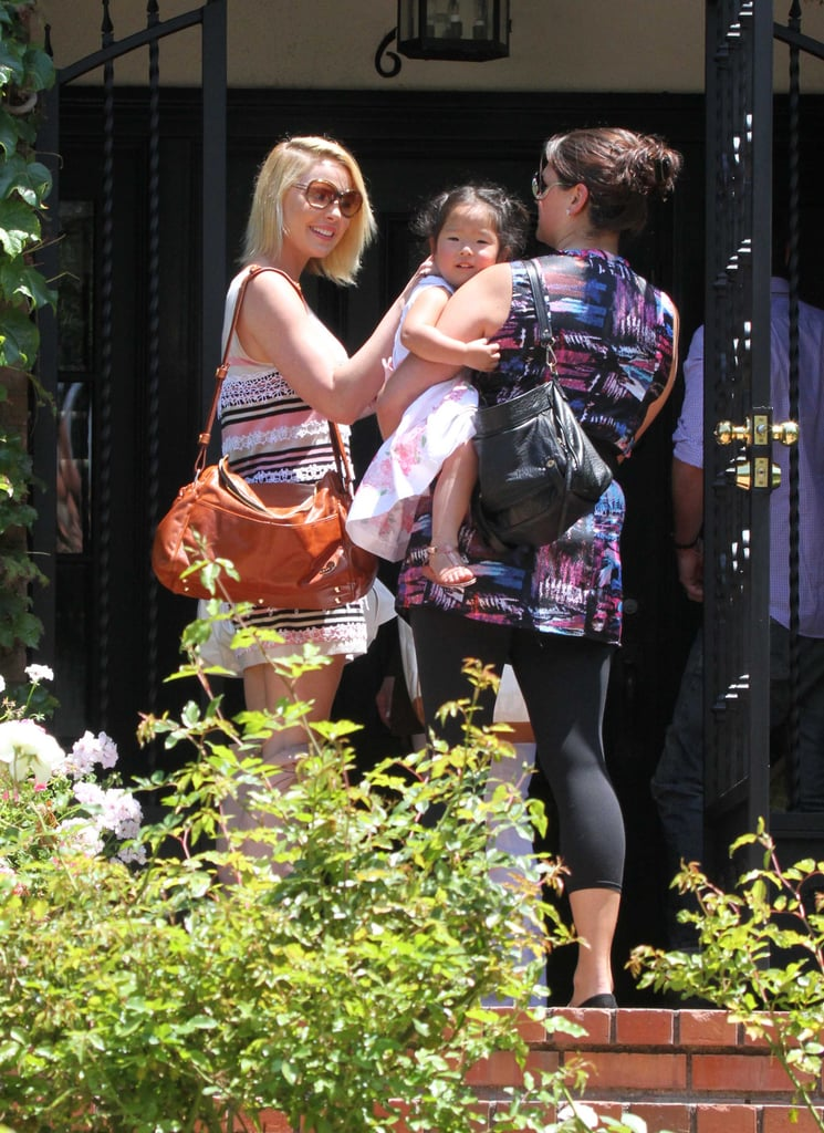 Katherine Heigl Brings Her New Baby Girl Along to Meet Friends
