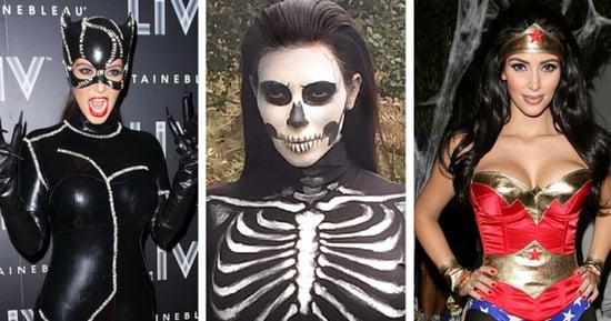 Kim Kardashian's Halloween Costumes Deserve A Round Of Applause