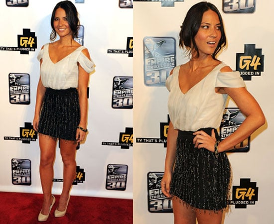 Pictures of Olivia Munn at Comic-Con