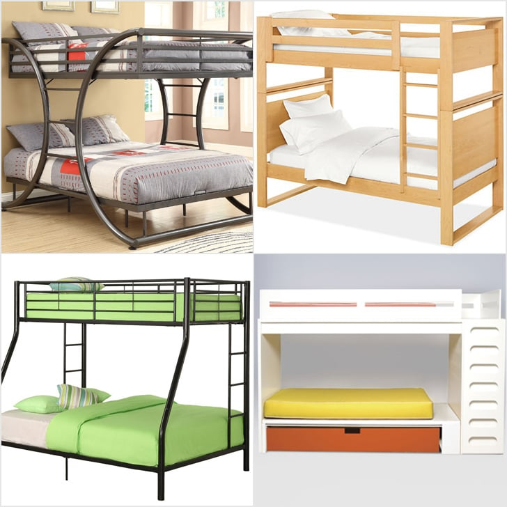 Modern bunk beds for kids popsugar moms for Modern loft bedroom