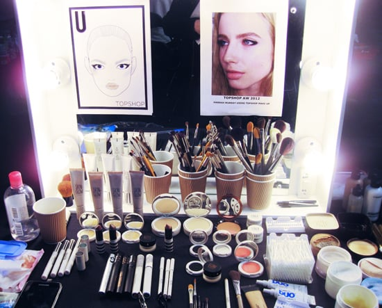 A Peek at the Products Used Backstage