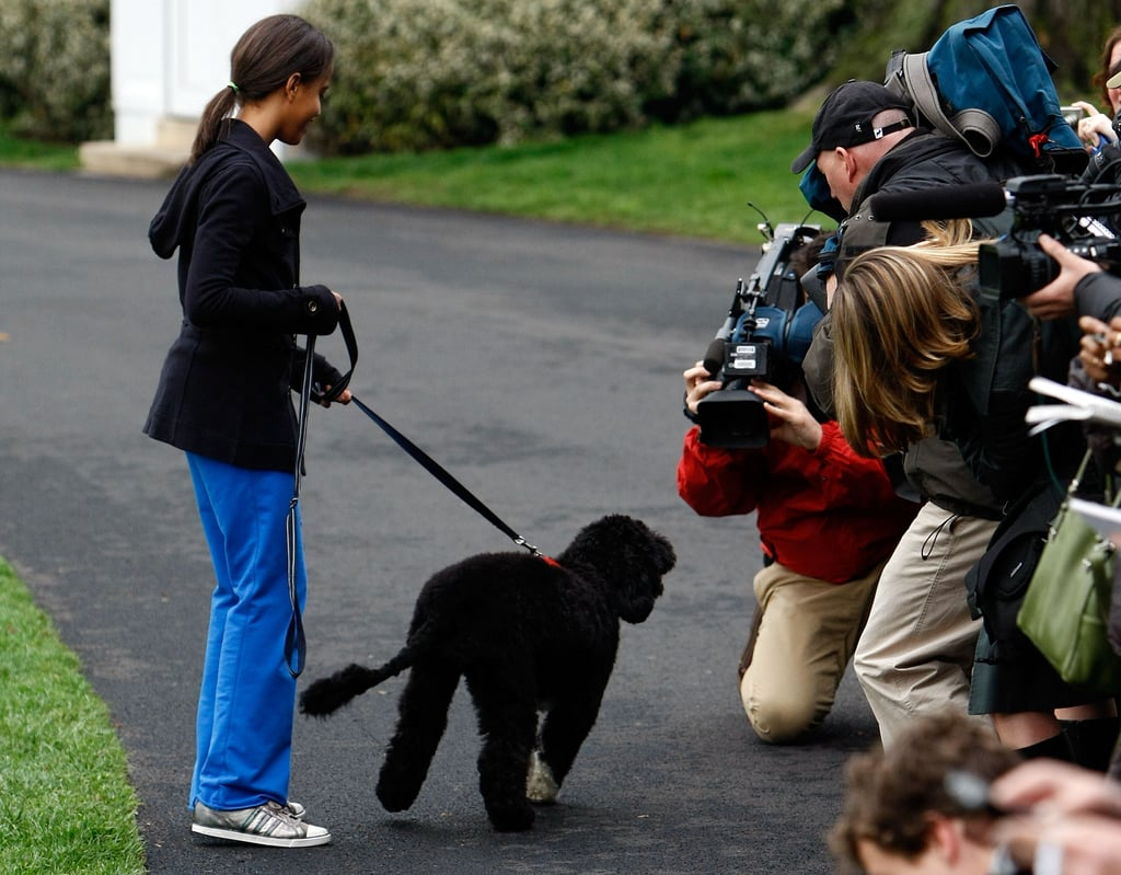 The First Dog's First Press Conference