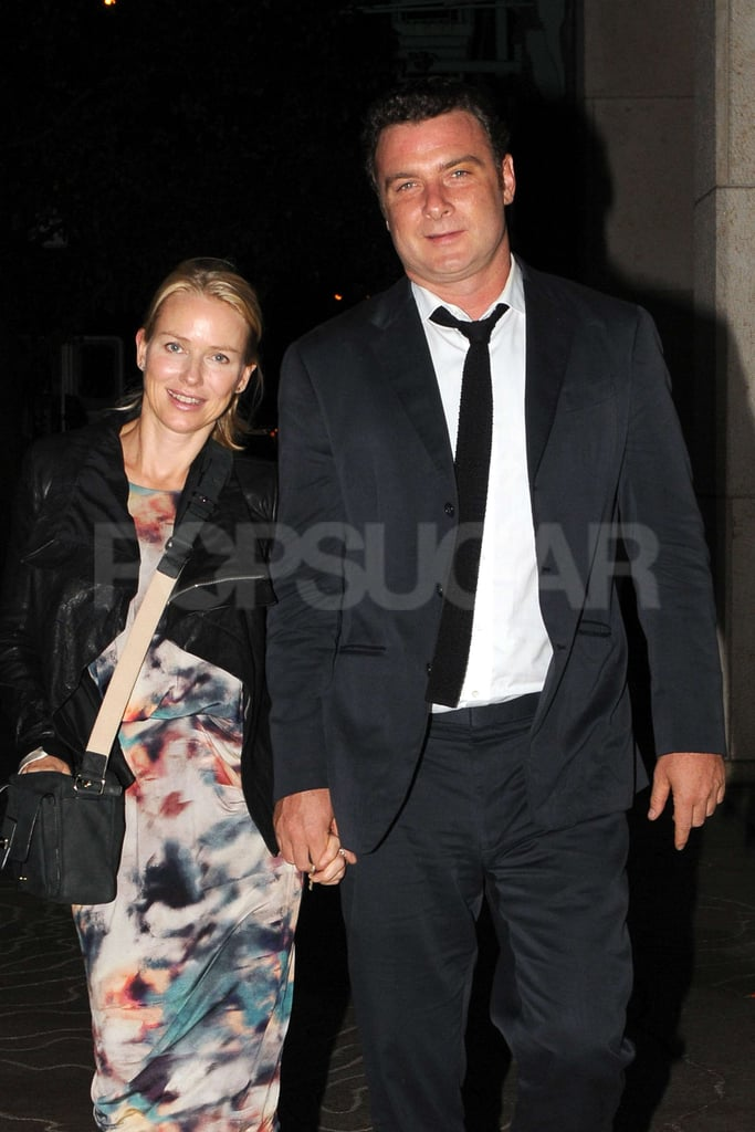 Naomi Watts and Liev Schreiber were out and about Naomi's birthday.