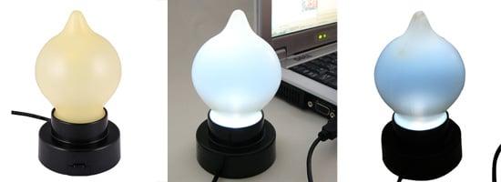 Lamp That Measures Type Speed: Geeky or Geek Chic?