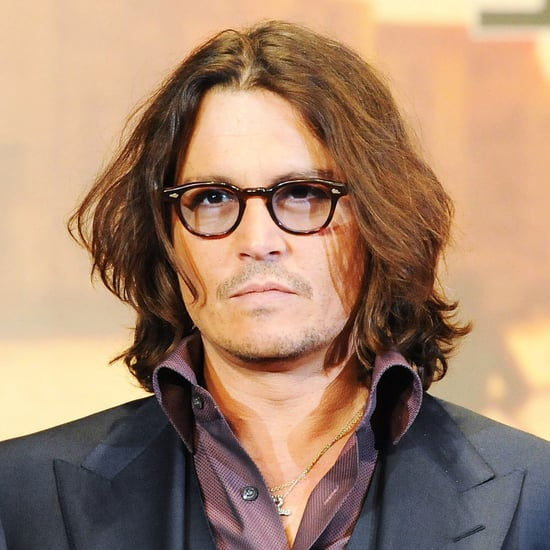 Pictures of Johnny Depp at The Tourist Premiere in Japan