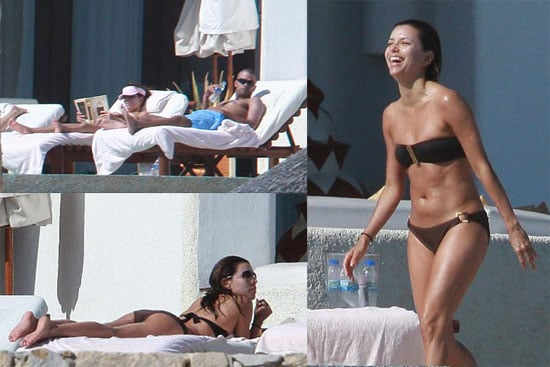 Eva Longoria Is Not Pregnant, but She Is on Vacation