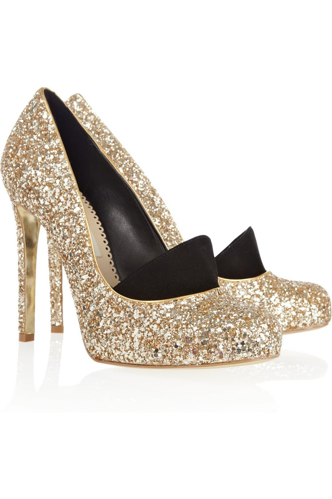 Stella McCartney Glitter Pumps