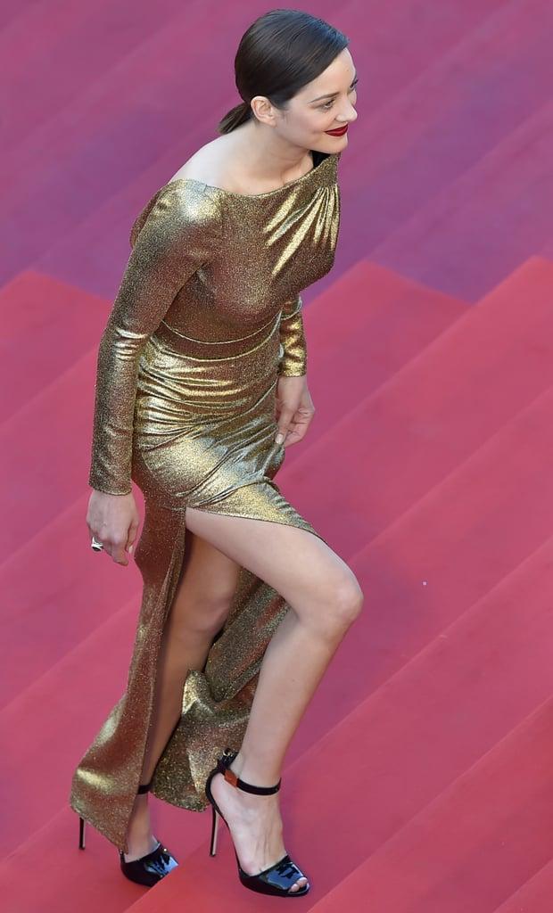Marion Cotillard Showed Us the Sex Appeal of a Dior Leg Slit