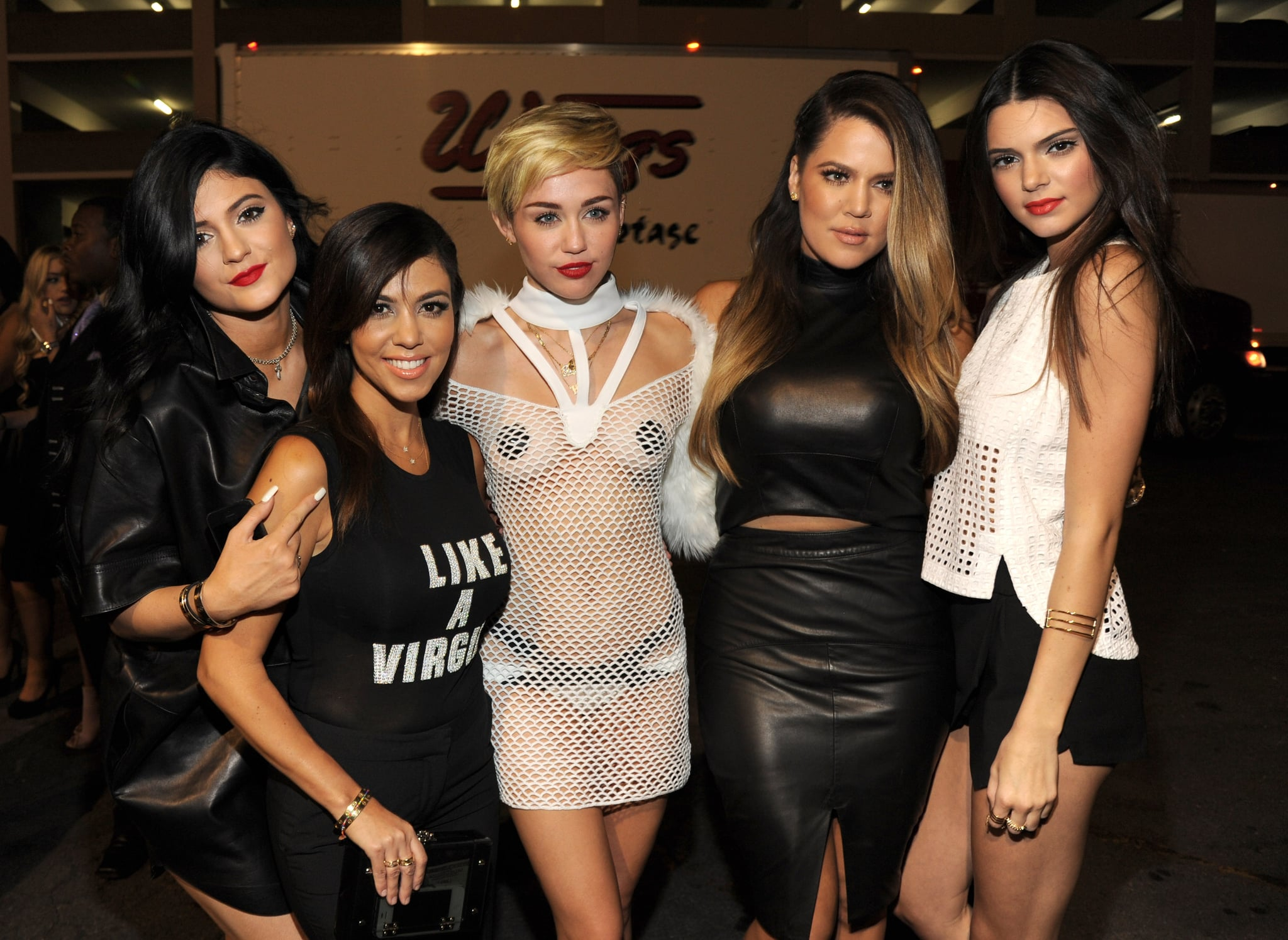 She started hanging out with Miley Cyrus sometimes.