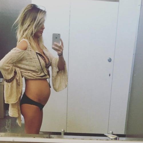 Audrina Patridge Baby Bump Picture