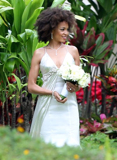 Pictures of Carlos Santana's Wedding and New Wife Cindy Blackman In Wedding Dress