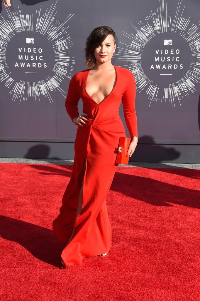Demi Lovato at the 2014 MTV VMAs