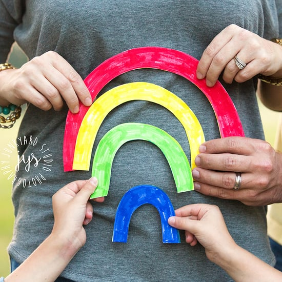 Rainbow Baby Pregnancy Announcement Ideas