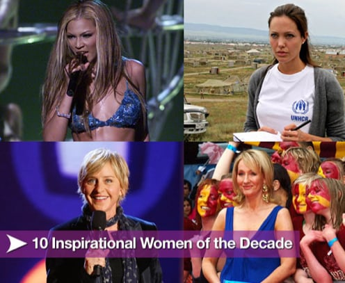 Sugar Shout Out: 10 Inspirational Women of the Decade