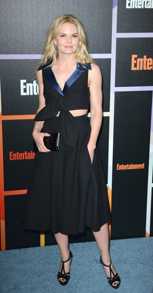 Jennifer Morrison let her hair down for the Entertainment Weekly party on Saturday.