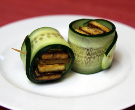 Cucumber and Baked Tofu
