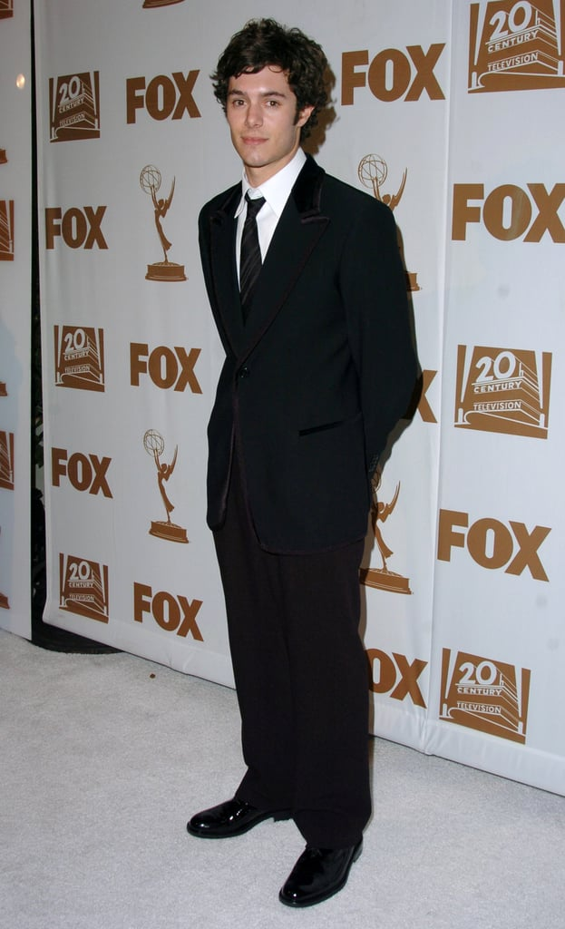Adam Brody posed solo arriving at Fox's after party in 2004.