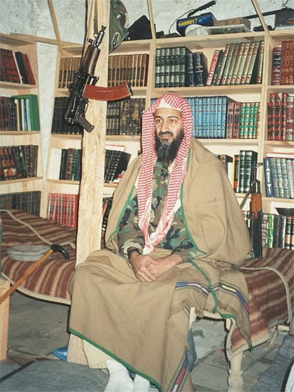 Rare Photos Show Osama bin Laden at His Tora Bora Compound