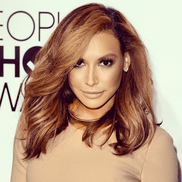 Naya Rivera's blond hair color reminded our Instagram followers of both Jennifer Lopez and Kim Kardashian.