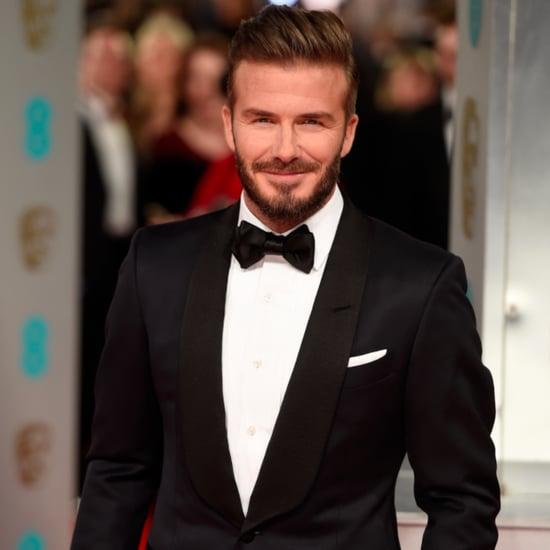 David Beckham Posts a Picture of Harper on Instagram 2015