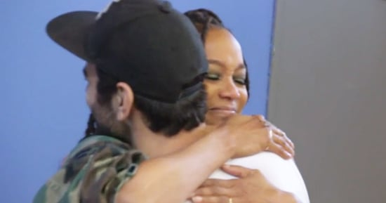 Tyra Banks Cries While Visiting Nyle DiMarco on 'Dancing With the Stars': 'That's My Baby'