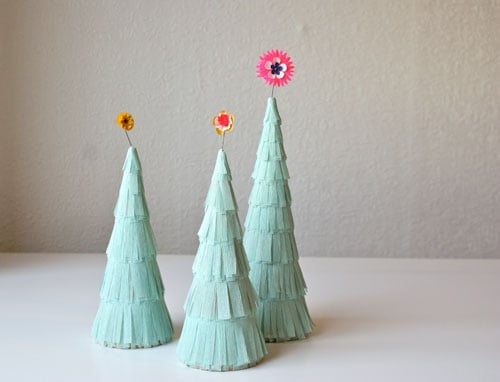 For Christmas: Flapper Trees