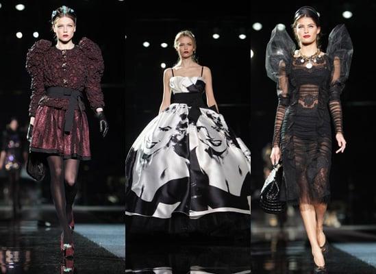 Dolce and Gabbana Autumn 2009, Milan Fashion Week