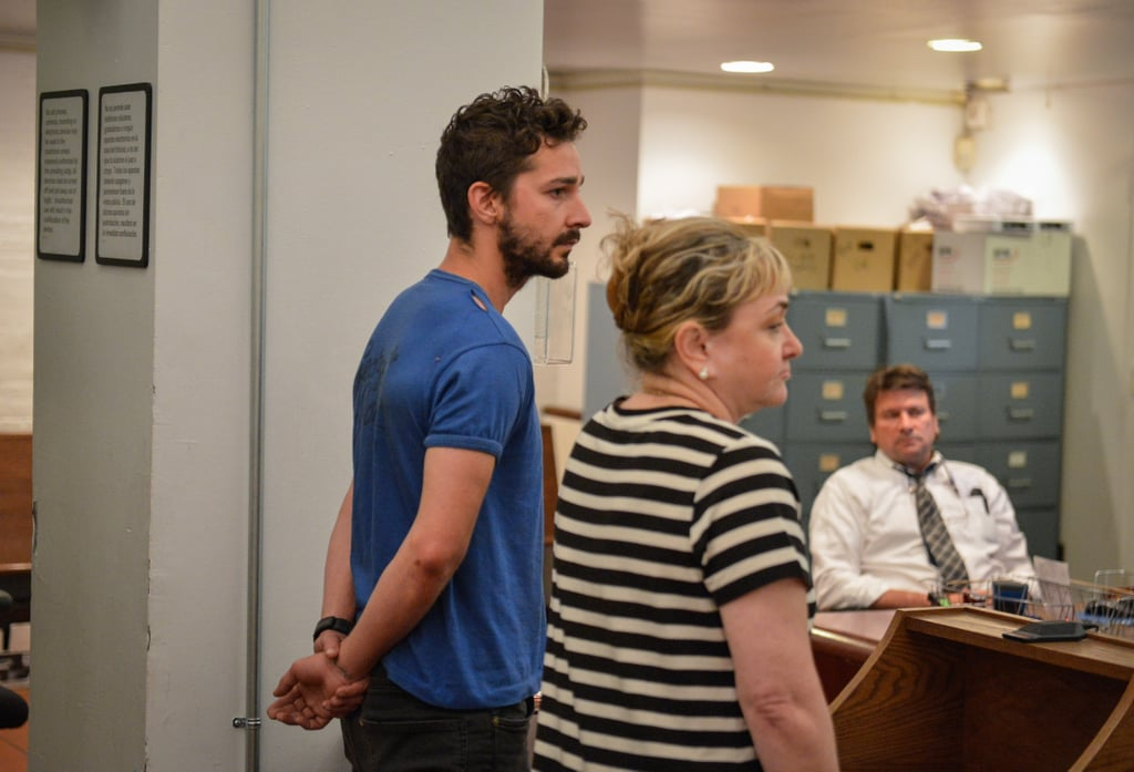 Shia LaBeouf Looks Worse For Wear Following His Dramatic Arrest