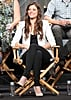 Peyton List was on stage for The Tomorrow People as part of the Summer TCA Press Tour.