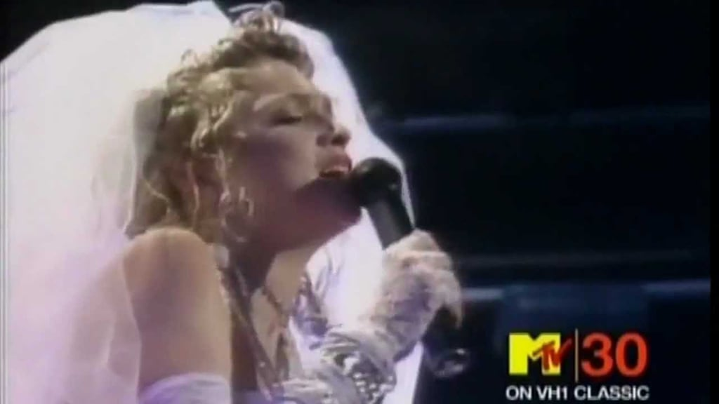 """Madonna's Famous """"Like a Virgin"""" Performance"""