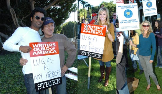 WGA Gets Some Help From Heroes