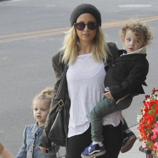 Nicole Richie Pictures Shopping Harlow and Sparrow Madden