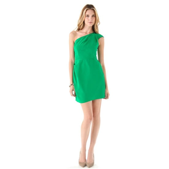 A good option for a work party as this style doesn't show too much flesh and is a great blank canvas for accessorising. — Laura, shopstyle.com.au country manager Dress, approx $249, Shoshanna at Shopbop
