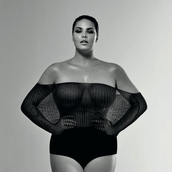 Candice Huffine Straight Size Fashion Campaign