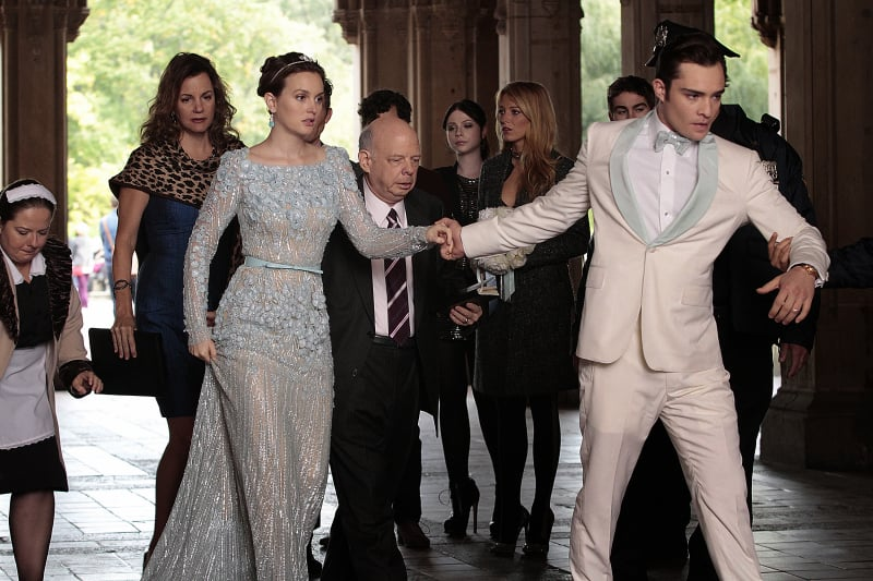 Chuck and Blair's big day is rudely interrupted by the police . . .
