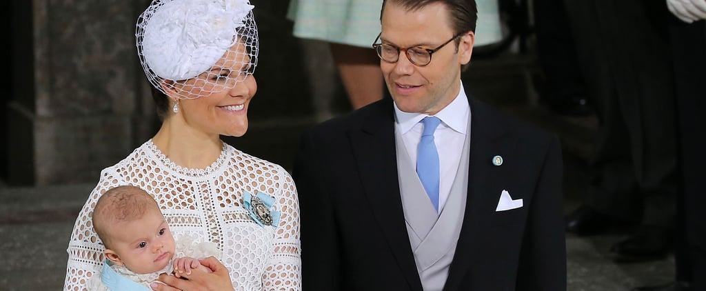 The Photos From Prince Oscar's Christening Ceremony Are Almost Too Cute For Words