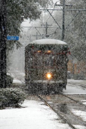 Let It Snow in N.O.! Winter Comes Early For the South