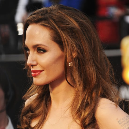 Angelina Jolie From the Side