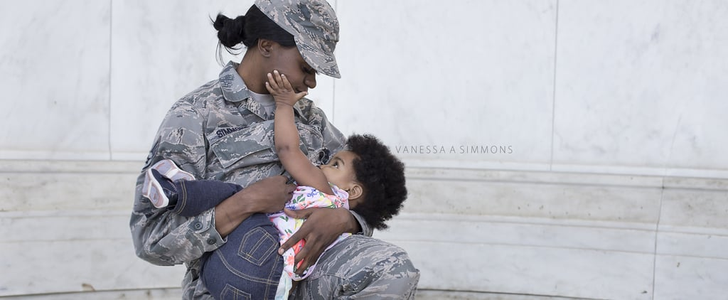 Don't Mess With These Combat-Boot-Wearing, Breastfeeding Mamas — or Ask Them to Cover Up