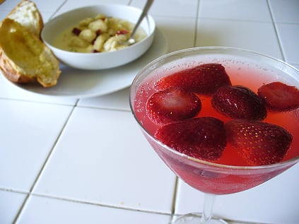 Yummy Link: Gnocchi and Strawberry Sippers