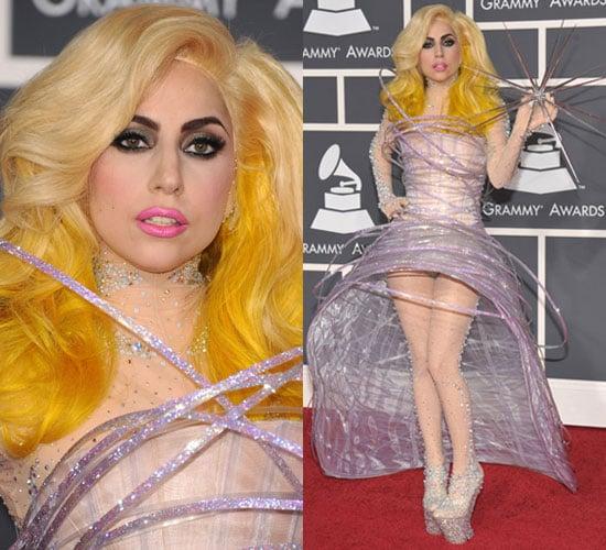 Lady Gaga at 2010 Grammys