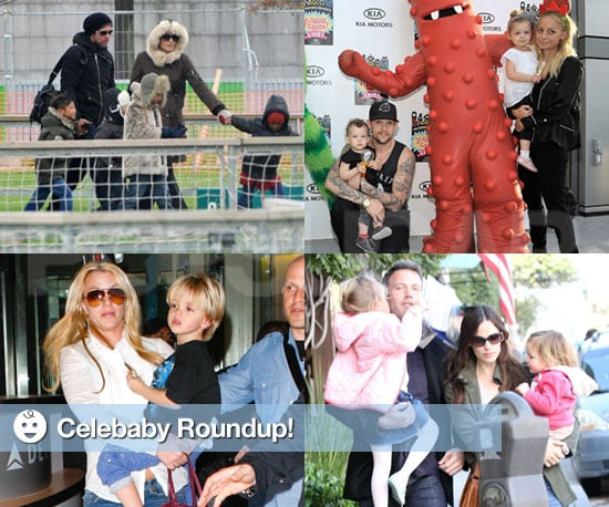 Pictures of the Jolie-Pitts and Afflecks Over the Thanksgiving Weekend