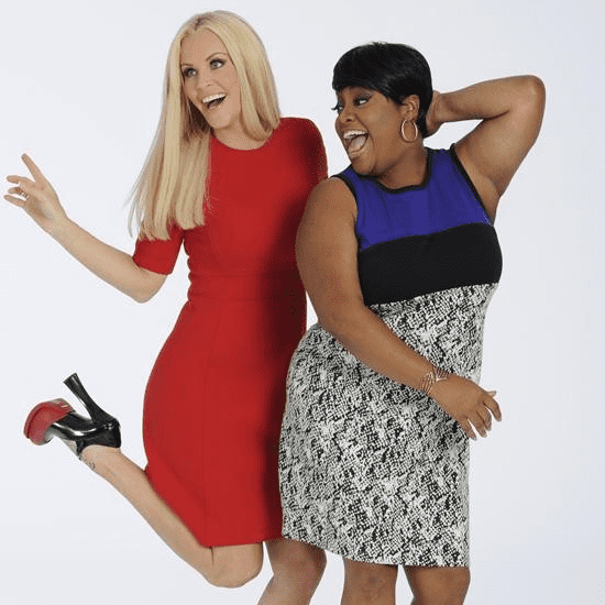 Sherri Shepherd and Jenny McCarthy Leaving The View
