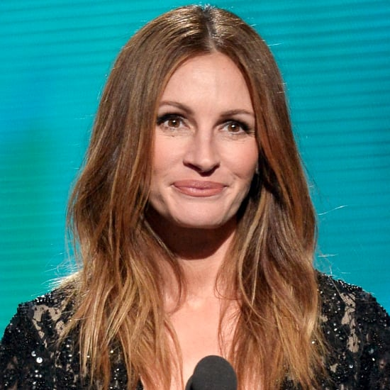 Julia Roberts Hair and Makeup at the Grammys 2014