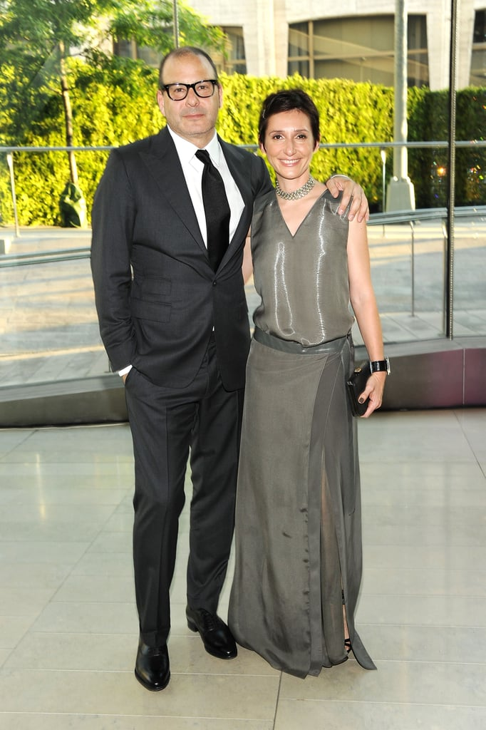 Reed Krakoff with wife Delphine, in his design